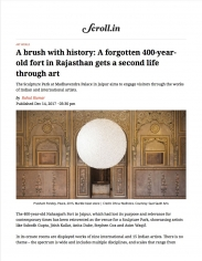 A brush with history: A forgotten 400-year-old fort in Rajasthan gets a second life through art