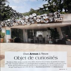 Chez Arman à Vence: Objet de curiosités