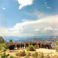 Neal Slavin Grand Canyon National Park, National Park Service, Grand Canyon, AZ 1974
