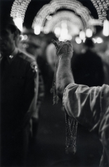 Robert Frank Medals, San Gennaro, New York City, 1951 ( printed later)