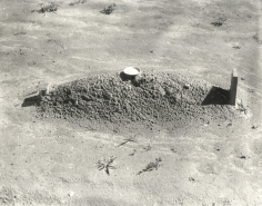 Walker Evans Child's Grave, Hale County, AL, 1936