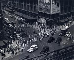 Berenice Abbott Herald Square, 34th St., 1936