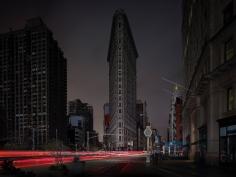 Luca Campigotto Flatiron Building, Hurricane Sandy, 2012