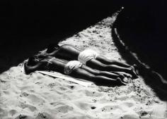 Ray Metzker Sand Creatures: Atalantic City, 1971  silver gelatin print