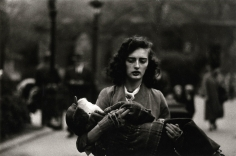 Diane Arbus Woman Carrying Child in Central Park, 1956