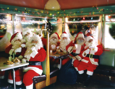 Neal Slavin Santa Clauses 1986