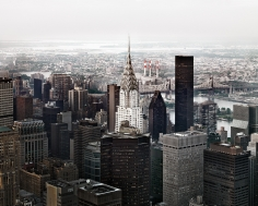 Luca Campigotto View of the Chrysler Building from Empire State Building, 2009