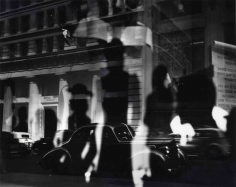 Lisette Model Fifth Avenue (window reflections), c. 1940
