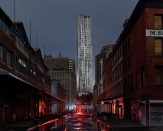 Luca Campigotto South St Seaport (Frank Gehry Beekman Tower), Hurricane Sandy, 2012