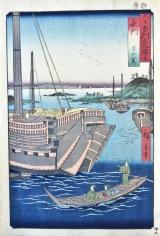 Utawa Hiroshige Nagato Province, Shimonoseki