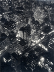 Berenice Abbott New York at Night, 1932 (printed c. 1980)
