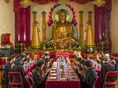 Neal Slavin Buddhist Ceremony, NYC 2016