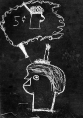 Helen Levitt grafitti NYC 1939