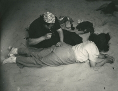 Weegee A Stitch in Time at Coney Island, ca. 1941