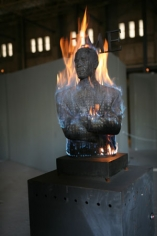 Art Bistro | Burning Obama Sculpture, A Hot Controversy