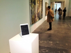 The New Yorker I What is an iPad doing on a pedestal at a museum?