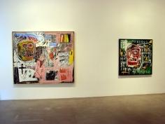 """BASQUIAT """"HEADS"""", Van de Weghe Fine Art"""