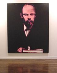 Lenin, 1986 Synthetic polymer paint & silkscreen ink on canvas