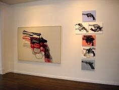 ANDY WARHOL Guns, Van de Weghe Fine ART