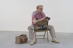 DUANE HANSON Man with Camera, 1991