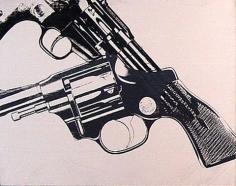 ANDY WARHOL GUNS, 1981-1982