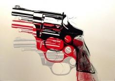 ANDY WARHOL GUNS, 1981-82