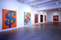 ANDY WARHOL Dollar Signs, Van de Weghe Fine Art