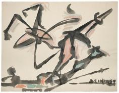 David Smith,ΔΣ 10/22/54, 1954.