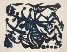 David Smith,Don Quixote, 1st State, 1952.