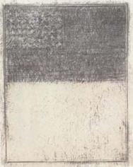 Jasper Johns,Flag above White, 1957.
