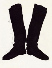 Jim Dine Boots Silhouettes, 1965