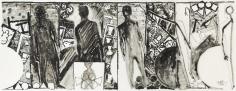 Jasper Johns, The Seasons, 1989.