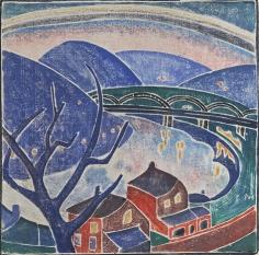 Blanche Lazzell The Monongahela, 1936