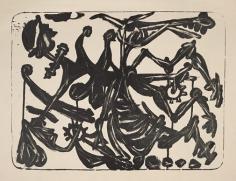 David Smith,Don Quixote, 2nd State, 1952.