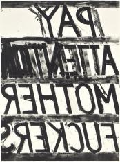 Bruce Nauman Pay Attention, 1973