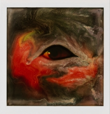 Lucas Samaras (b. 1936)Photo-Transformation, 11/6/73Instant dye diffusion transfer print (Polaroid SX-70, manipulated)3 1/8 x 3 1/18 inches, image4 1/4 x 3 1/2 inches, overall