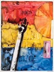 Jasper Johns, Land's End, 1982.