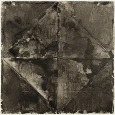Jasper Johns, Disappearance II, 1962.