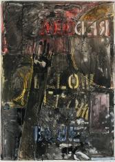 Jasper Johns, Land's End, 1977.