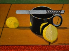 DAMIANO-Frank_Still Life with Lemons_oil on canvas_9x12