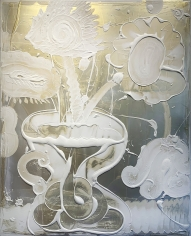 HOWE, Catherine_Mica Painting (Curly)_60x48