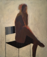 CHASE-Jamie_Seated Figure_acrylic on canvas_36x30 inches