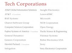 Tech Corporations