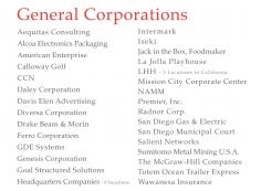General Corporations