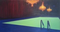 GREENBERG-Sheldon_Chandelier_oil on canvas_45x84