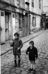 Two Boys, Paris 1950 Gelatin silver print