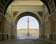 Palace Square, St. Petersburg, 2002