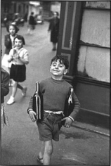 Rue Moffetard, 1954, gelatin siver print, signed on recto, available as