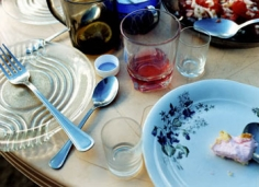 Blue Spoon, 2004, 20 x 24 inch chromogenic print, Signed, titled, dated and editioned on the verso, Edition of 15