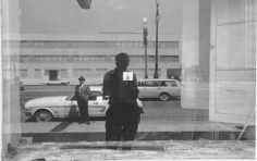 """Lee Friedlander, """"New Orleans, 1968"""", 11 x 14 inch Gelatin silver print (printed later), Uneditioned"""